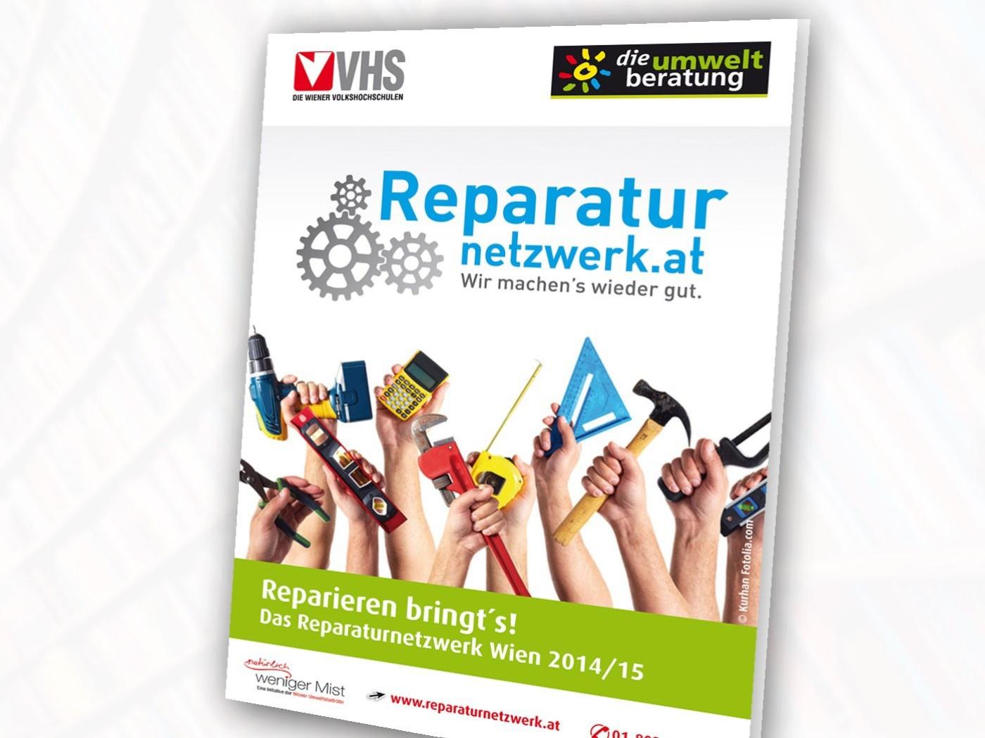 Reparieren Bringts Das Reparaturnetzwerk Wien Die