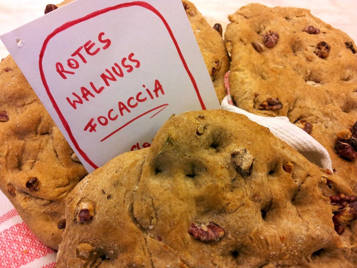 Walnuss Focaccia