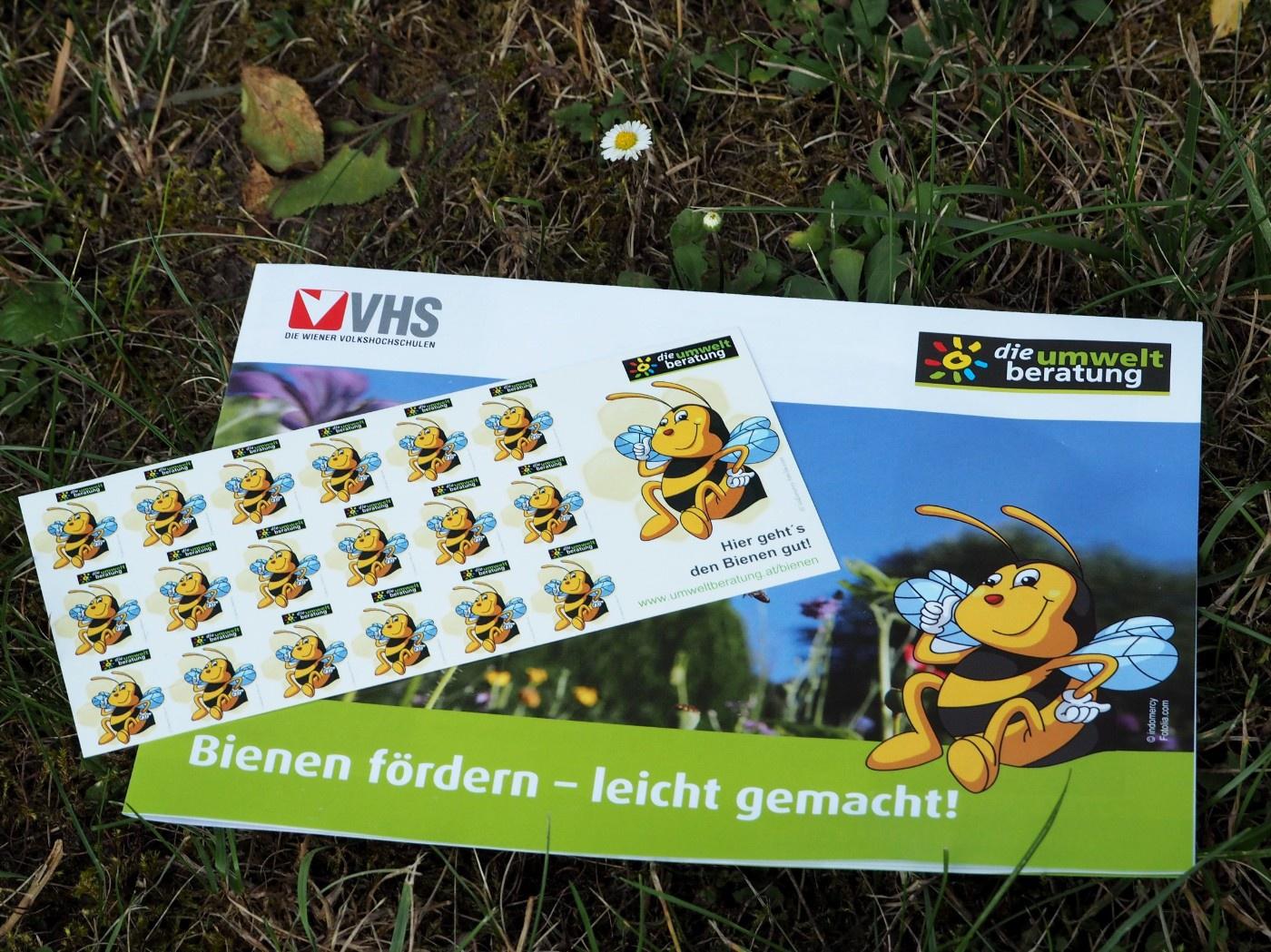 Poster-Bienen fördern leicht gemacht