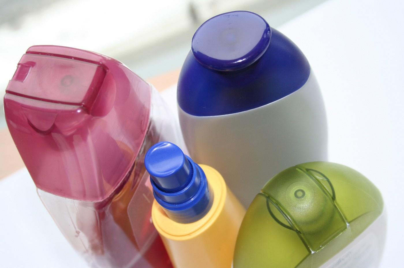 verschiedene Rinse Off Produkte