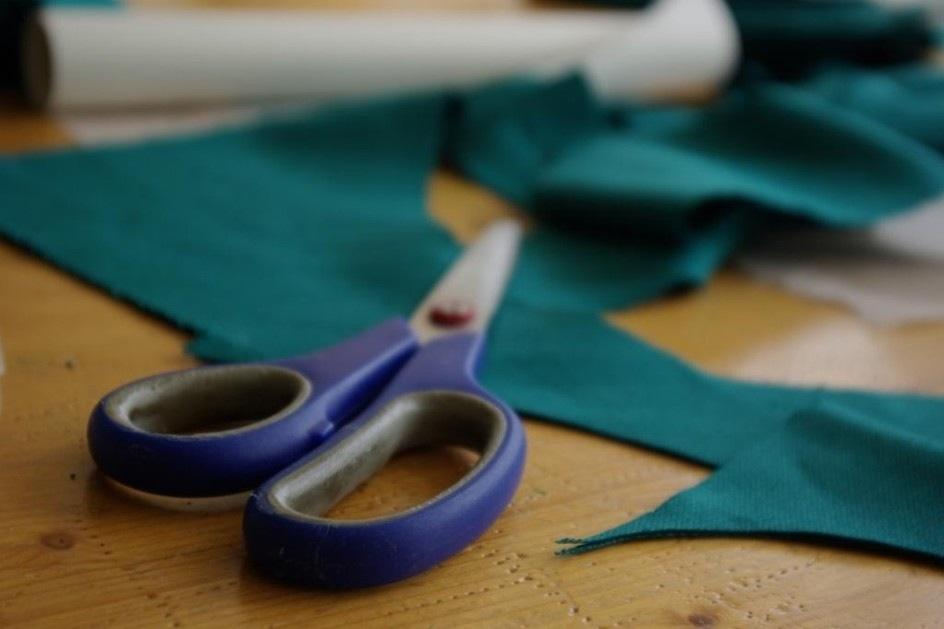 Textilien selber schneidern