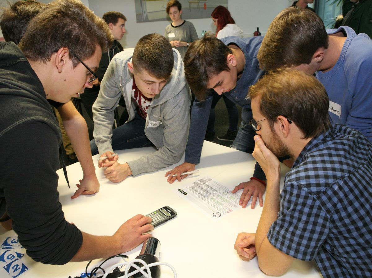 Jugendlich beim energie-führerschein Seminar