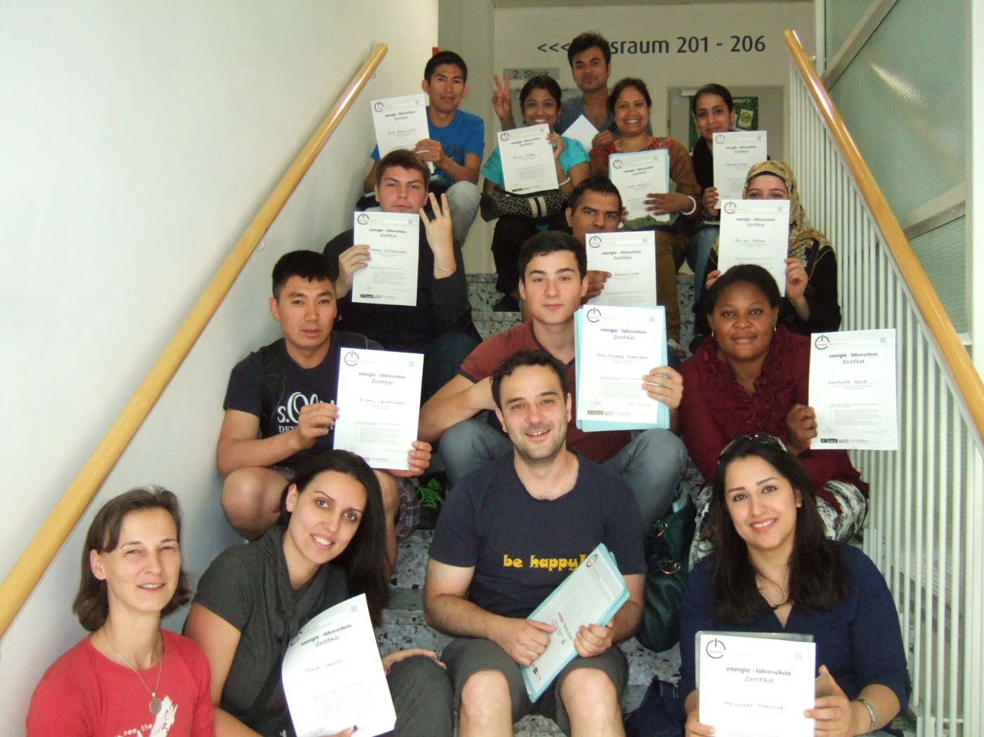 graduates of the energy driving licence