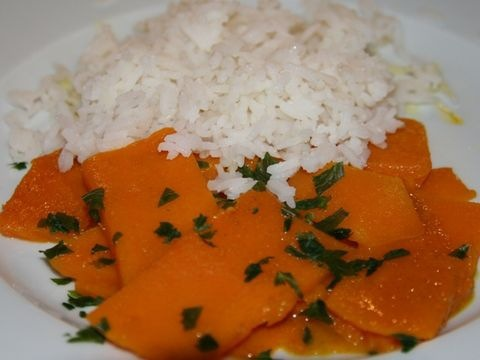 Kürbis-Curry