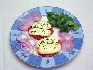 Mini-Zwiebelpizza