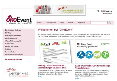 Oekoevent-website