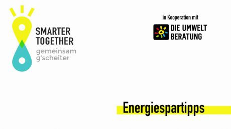Smarter together Energiespartipps