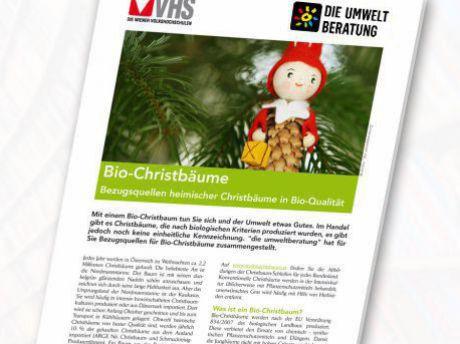 Cover Christbauminfoblatt