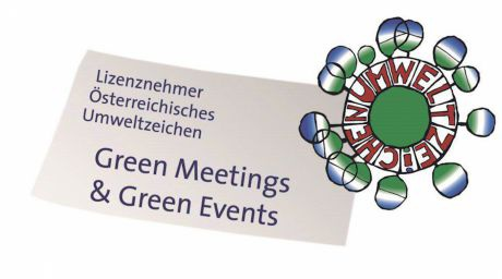 Umweltzeichen Green Meetings & Green Events
