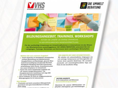 Bildungsangebote Trainings Workshops